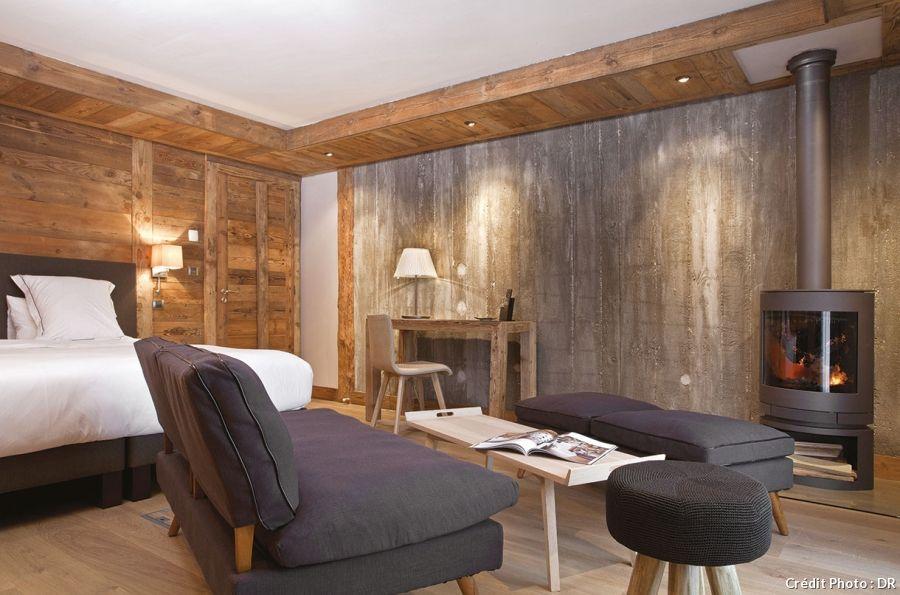 10 h tels et chambres d 39 h tes d couvrir au coin du feu - Chambre d hote couleur bois et spa ...
