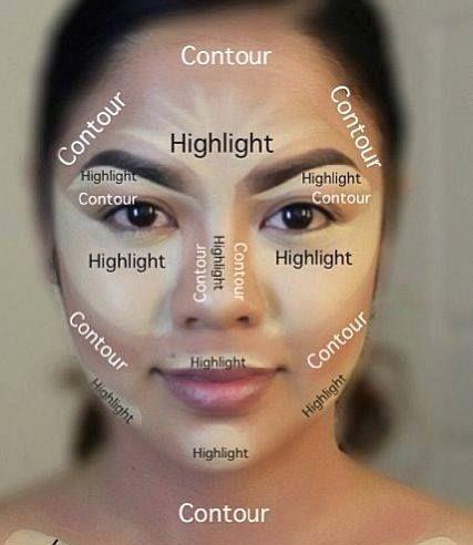 makeup tips for brown eyes ideas  contour makeup