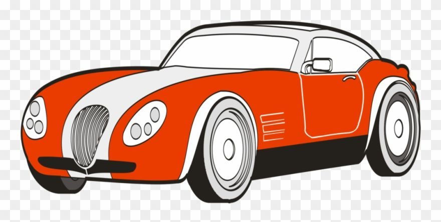 Sports Car Ferrari S Car Drawing With Color Clipart 22235 Is