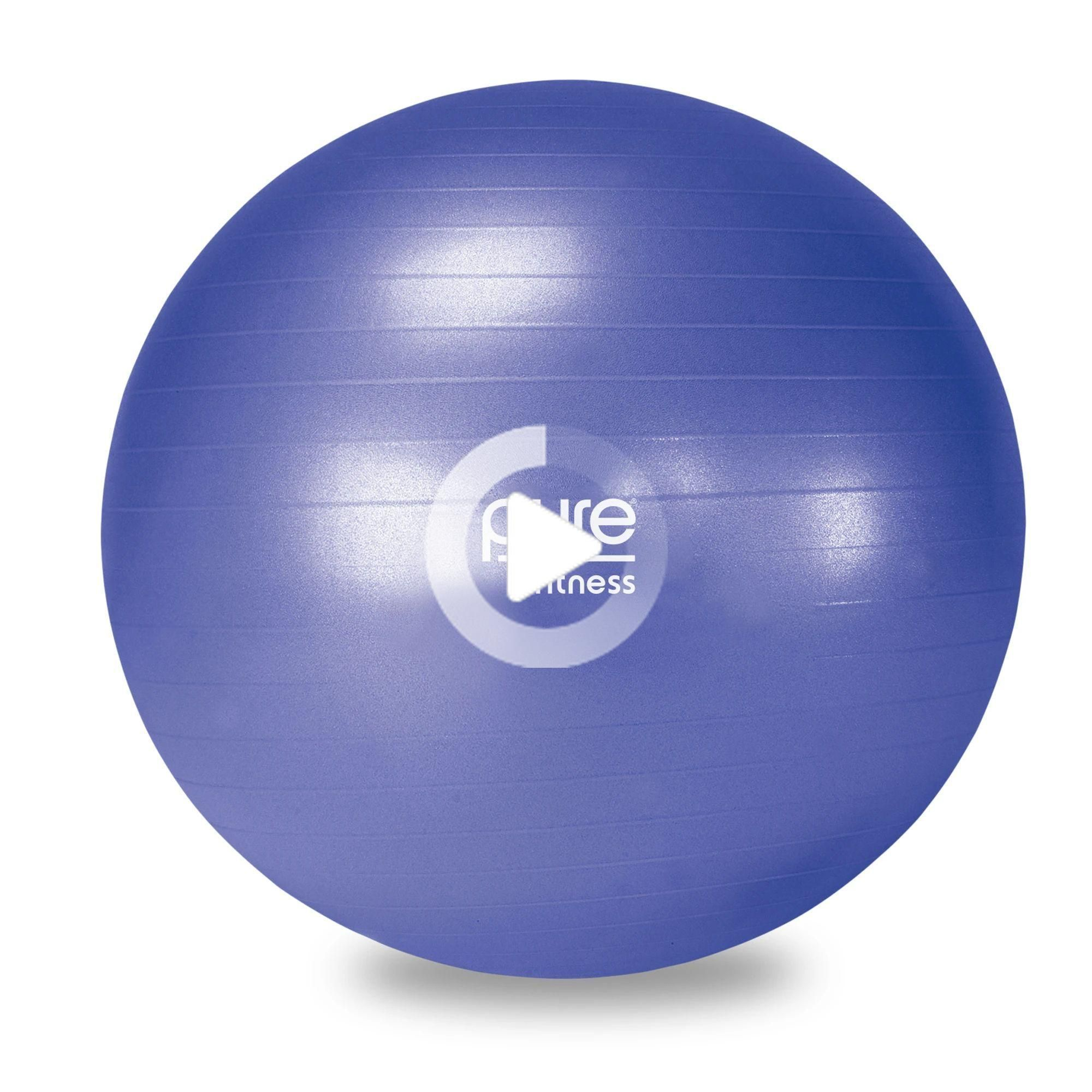Pure Fitness Exercise Stability Ball