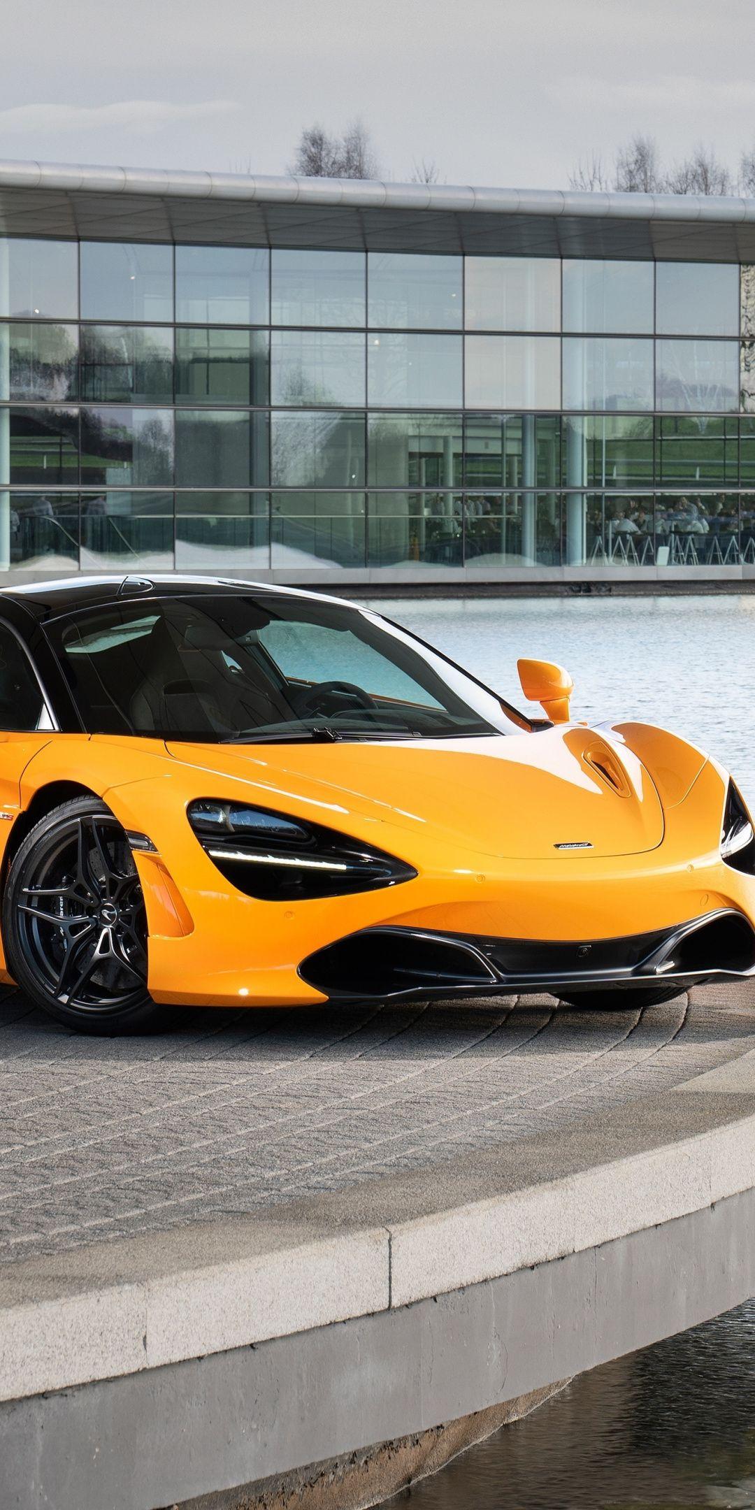 Sports Car Yellow 2018 Mclaren 720s 1080x2160 Wallpaper Car Maclaren Cars Sports Car