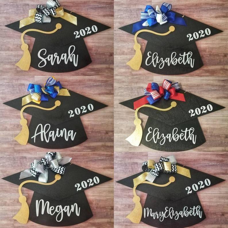Graduation Door Hanger Graduation Hat For Door Graduation Etsy In 2021 Graduation Decorations Door Signs Diy Door Decorations
