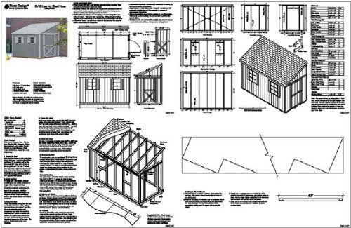 Do it yourself a storage shed plans, Lean To Style Shed
