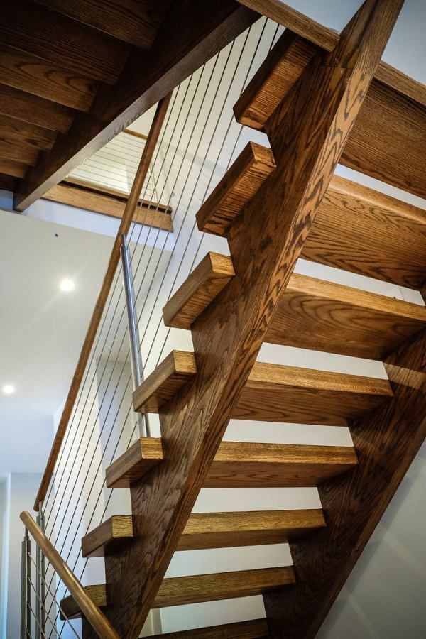 75 Most Popular Staircase Design Ideas For 2019: Open Riser Stairs In 2019