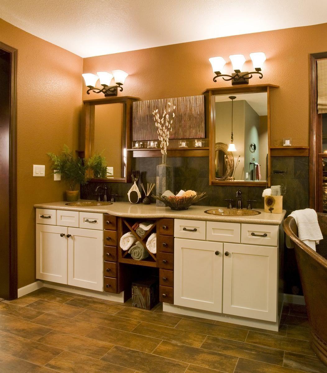 0 033435 24 W Oak Harbor 3 Light Bathroom Vanity Rustic Burnished