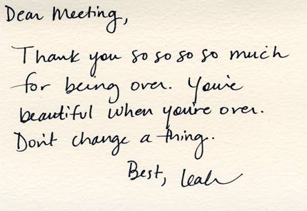 Leah Dieterich\u0027s mother taught her to write thank you notes, so she