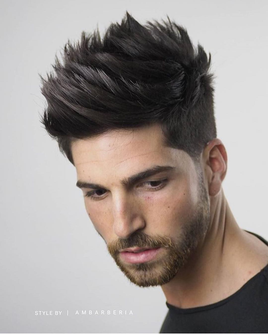 Textured Quiff Hairstyle Hair In 2019 Quiff Hairstyles Quiff