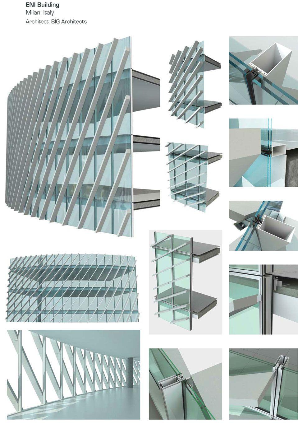 Portfolio eni building milan drawings construction for Architecture design construction