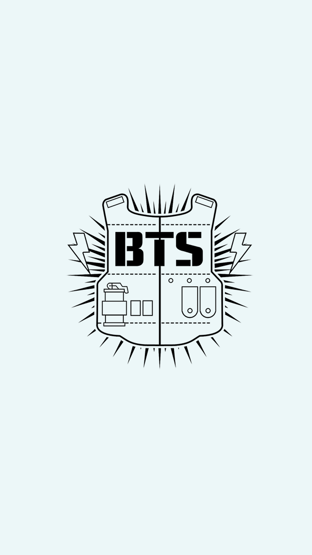 Pin de Nguyen Ha en BTS Mobile Screen Fondo de pantalla
