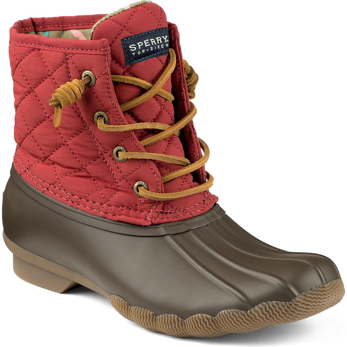 Women's Saltwater Quilted Duck Boot Boots | Sperry Top