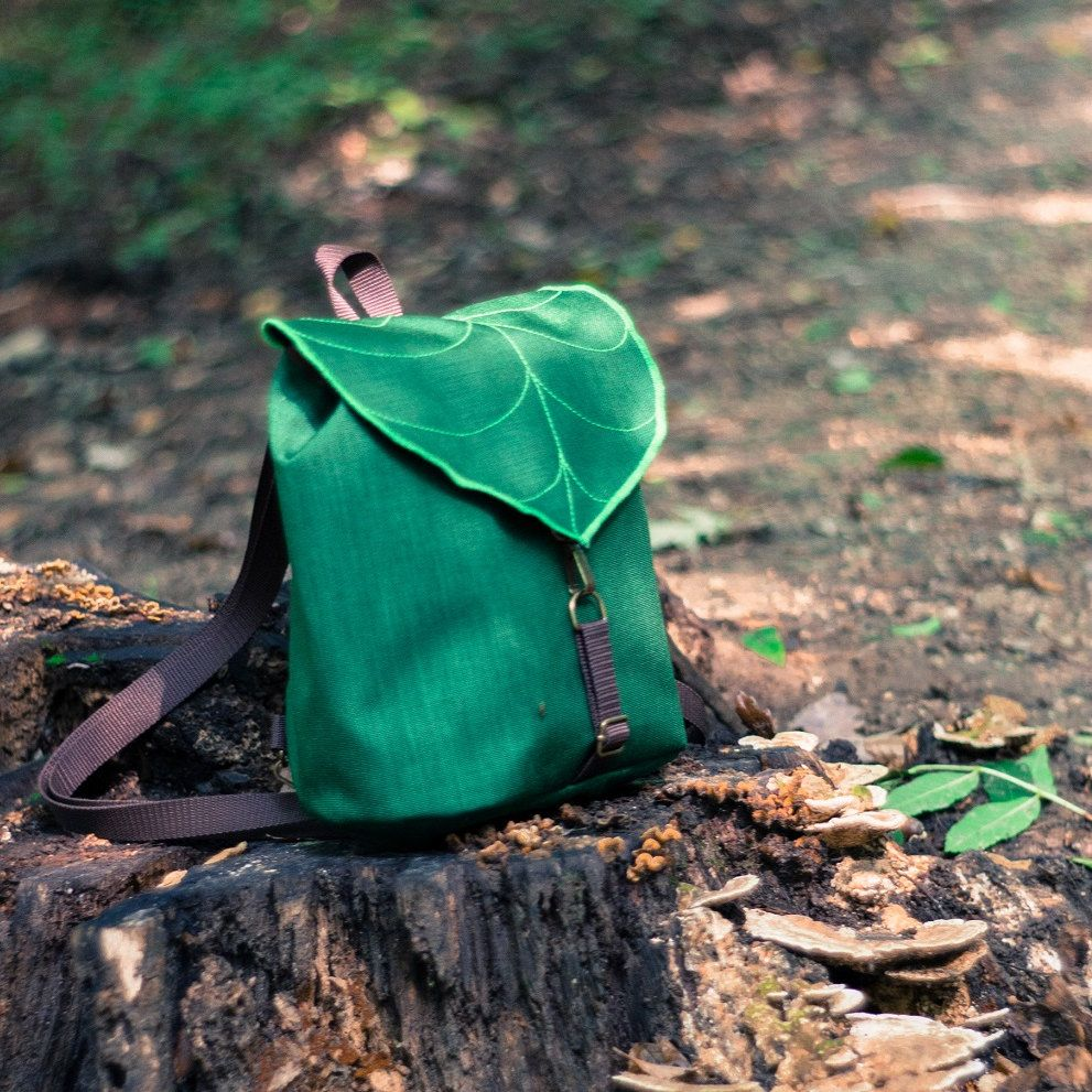 Photo of Vegan Leather Bags and Embroidered Accessories von LeaflingBags