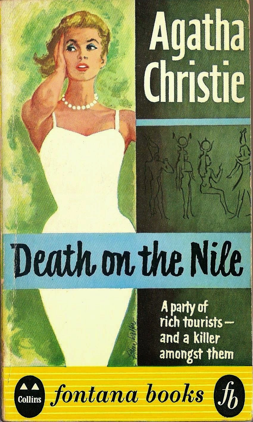 Image result for death on the nile covers
