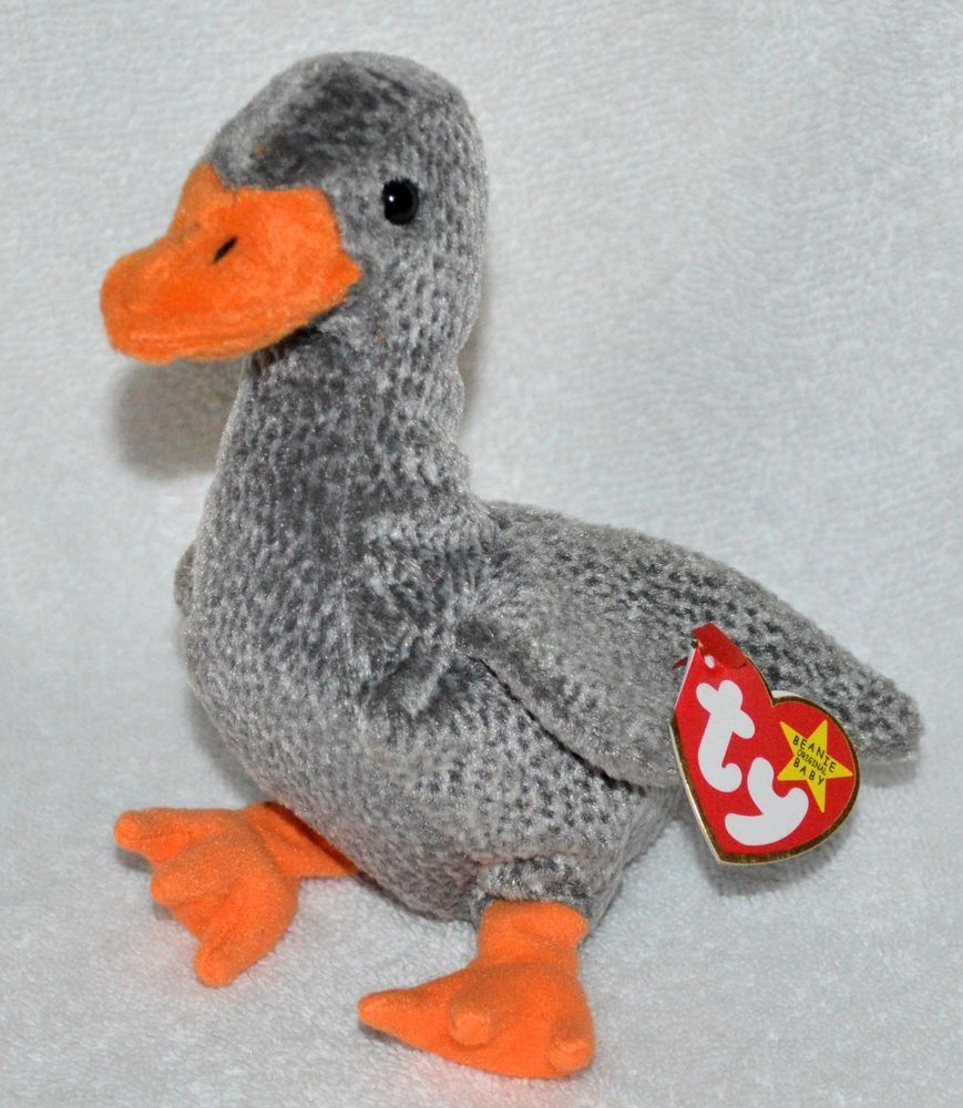 dce1a9826e0 TY Beanie Babies Rare  Honks the  Goose Original 1999 Mint W  Tags Retired   Ty
