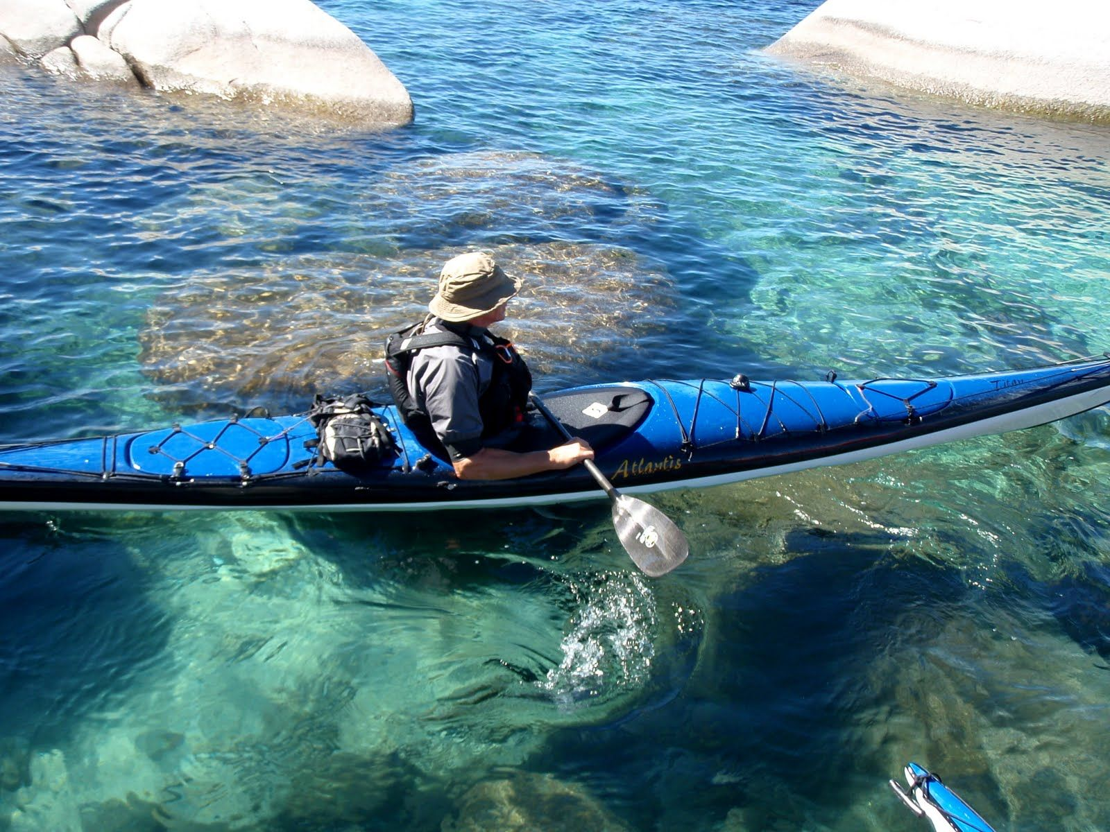 Kayak at sand harbor lake tahoe nv lake tahoe