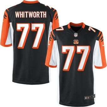 competitive price 3577c c6d6c Nike Youth Cincinnati Bengals Andrew Whitworth Team Color ...