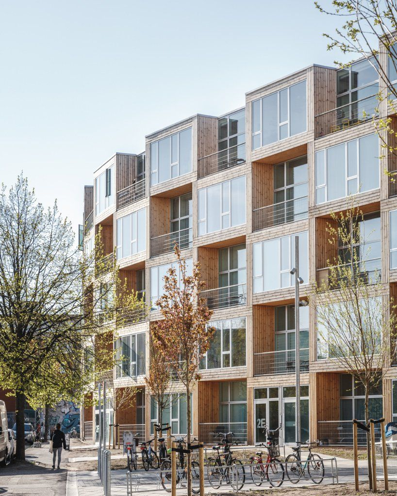 Big Completes Low Income Housing Development In Copenhagen Social Housing Architecture Big Architects Affordable Housing