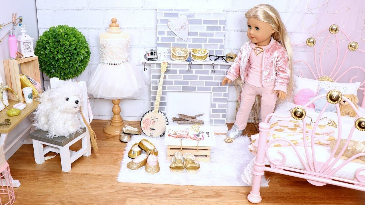 Baby Doll Bedroom For Trendy Tumblr Room Play Dollhouse Furniture Setup