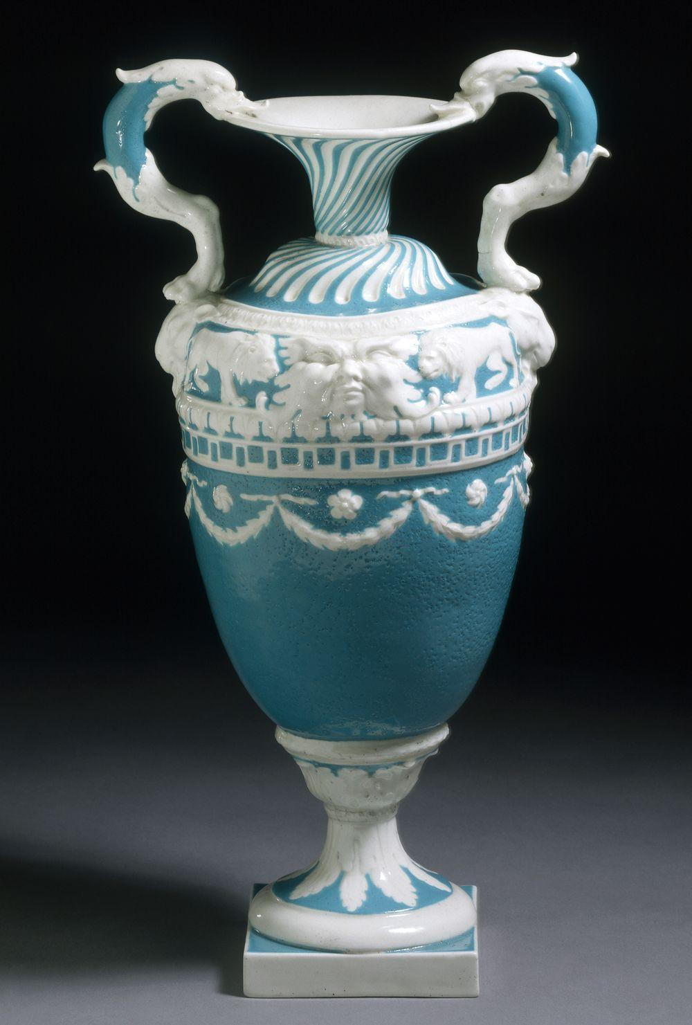 Vase Derby Porcelain Factory 1773 1774 Neo Classicism