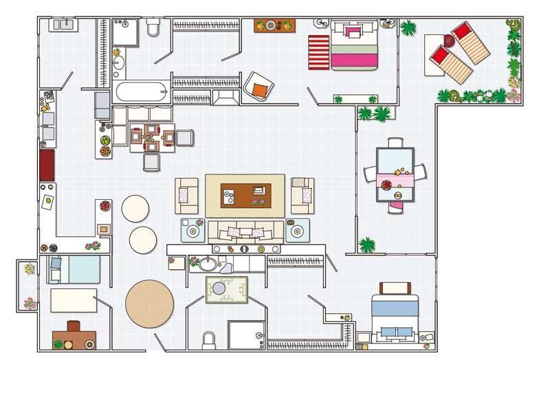 4 Ambientes Con Jardín Terraza Los Dormitorios Más Grandes