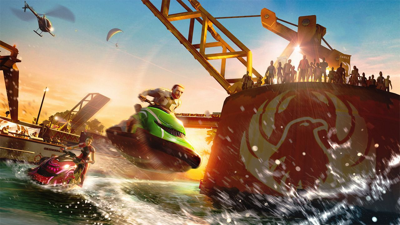 Kinect Sports Rivals Wake Racing Ea sports ufc