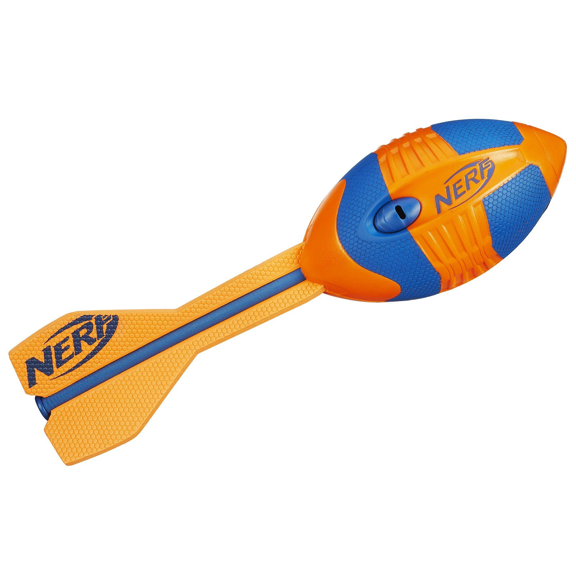 Nerf Sports Vortex Aero Howler Toy Orange Go long with the Aero Howler football