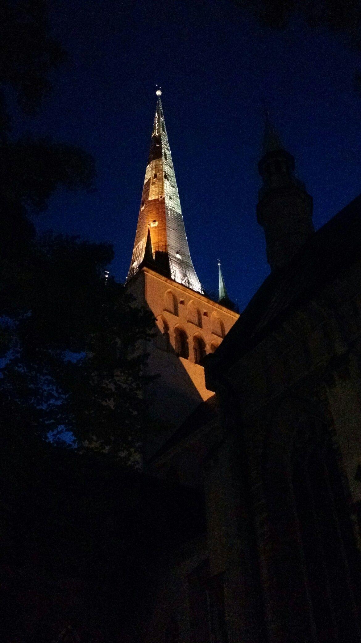 Guglia di notte