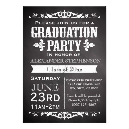 Graduation Party Invites Free Templates
