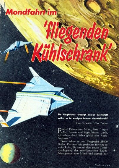 #space #retro #illustration #1961