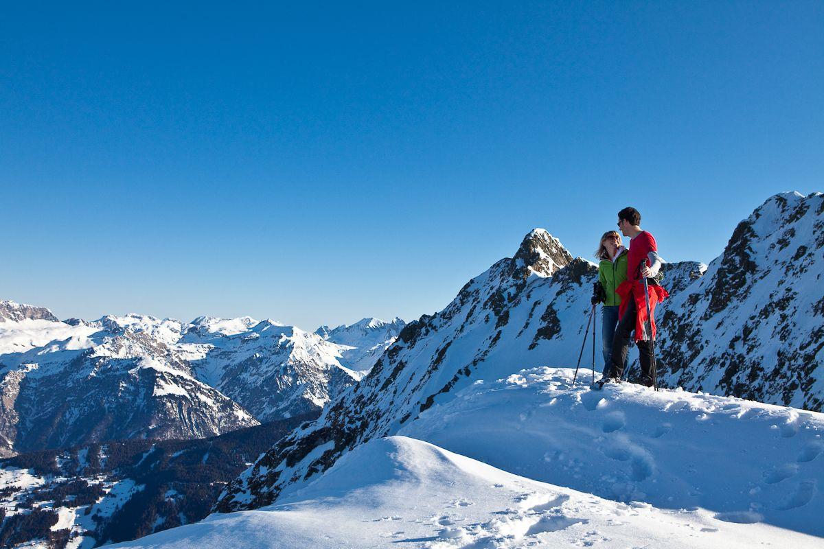 Fußgängersafari - Panoramaglück für Wanderer. Diese Wanderung garantiert einen fantastischen Rundblick. #silvrettamontafon #view #hiking