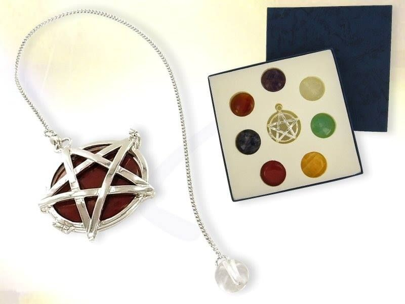 i have one of these, the pentagram detaches so it can be worne as a neclace. one of my faverate pices of jewlery