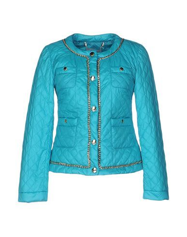 CLIPS MORE Women's Down jacket Turquoise 10 US