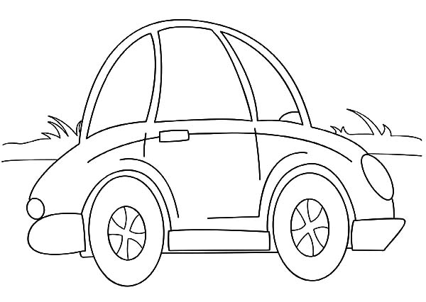Cartoon Beetle Car Coloring Pages : Best Place to Color ...