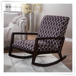 Madeleine Low Profile Rocking Chair