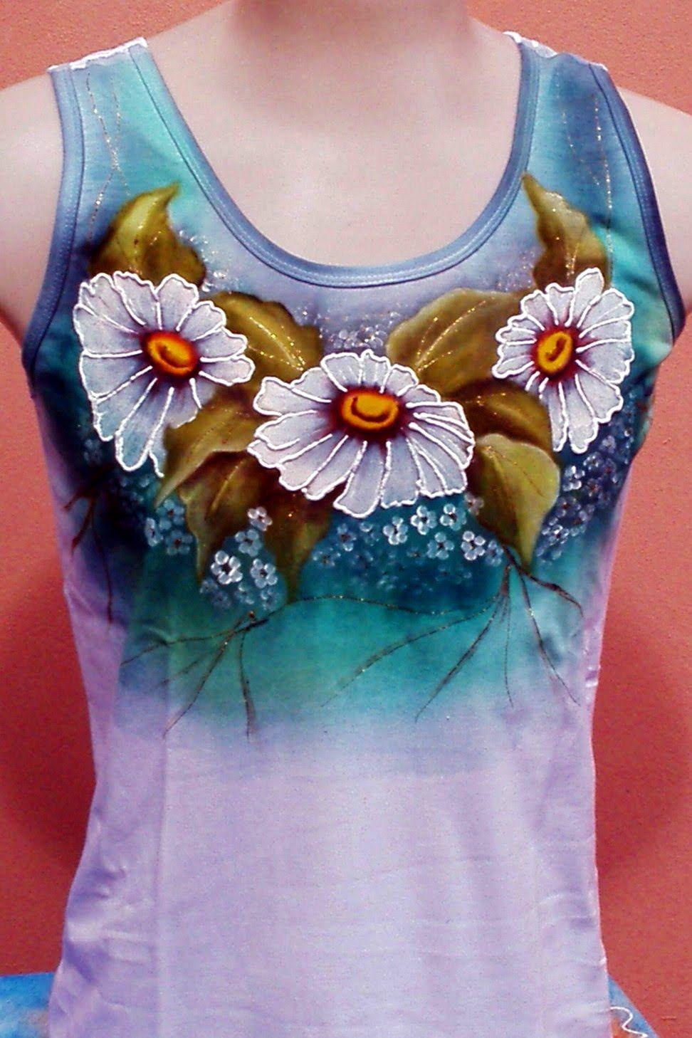 Resultado de imagem para camisas pintadas artesanato - Pintura para camisetas ...