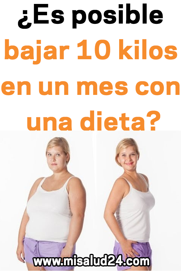 dieta bajar 10 kilos en un mes