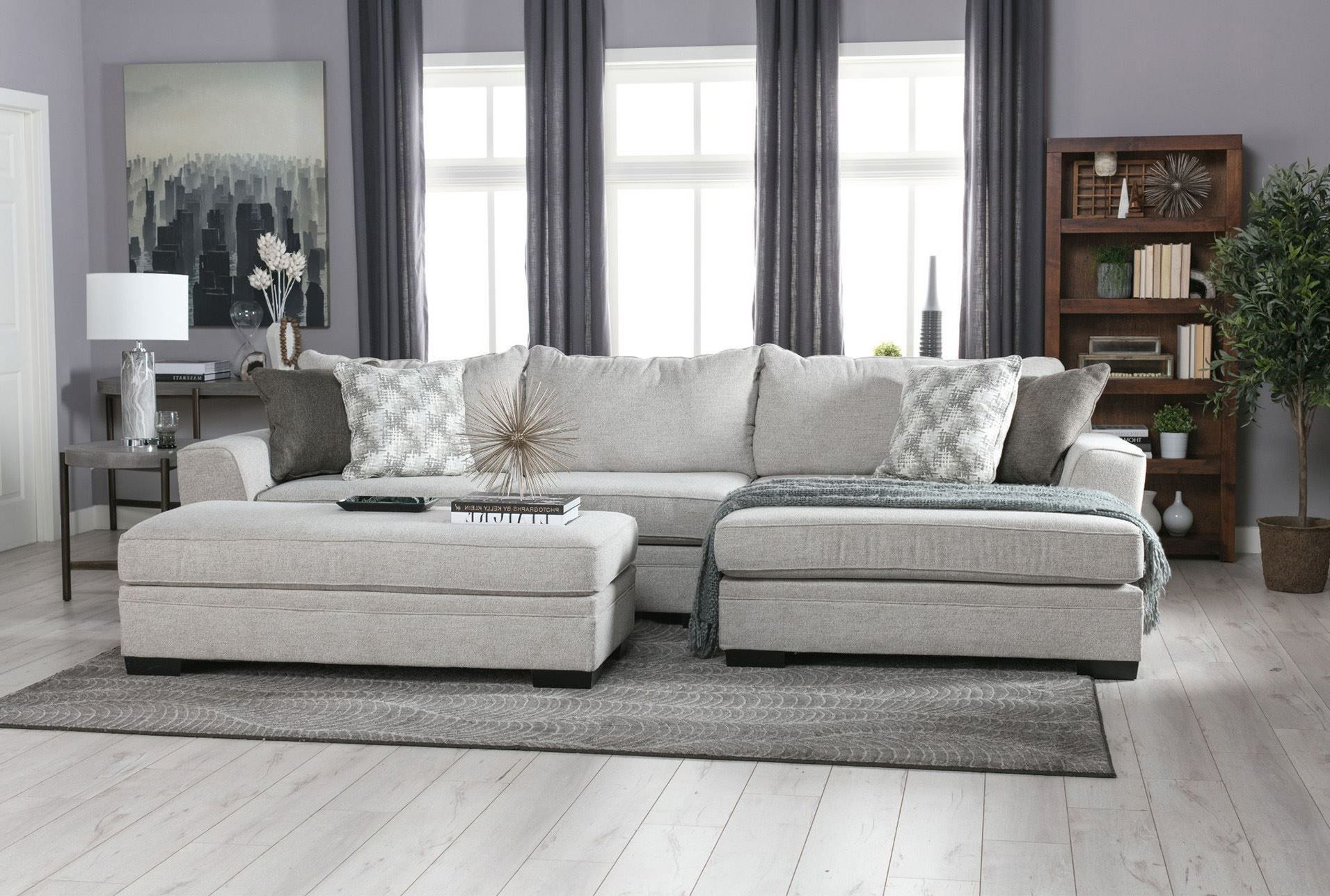 Delano 2 Piece Sectional W Raf Chaise Signature Cheap Living Room Sets Farm House Living Room Contemporary Bedroom Furniture #oversized #living #room #furniture #sets