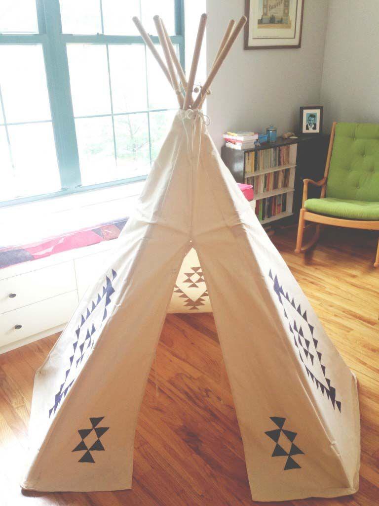 Tenda Indiani Fai Da Te 25 diy teepees (con immagini)   tende, candele