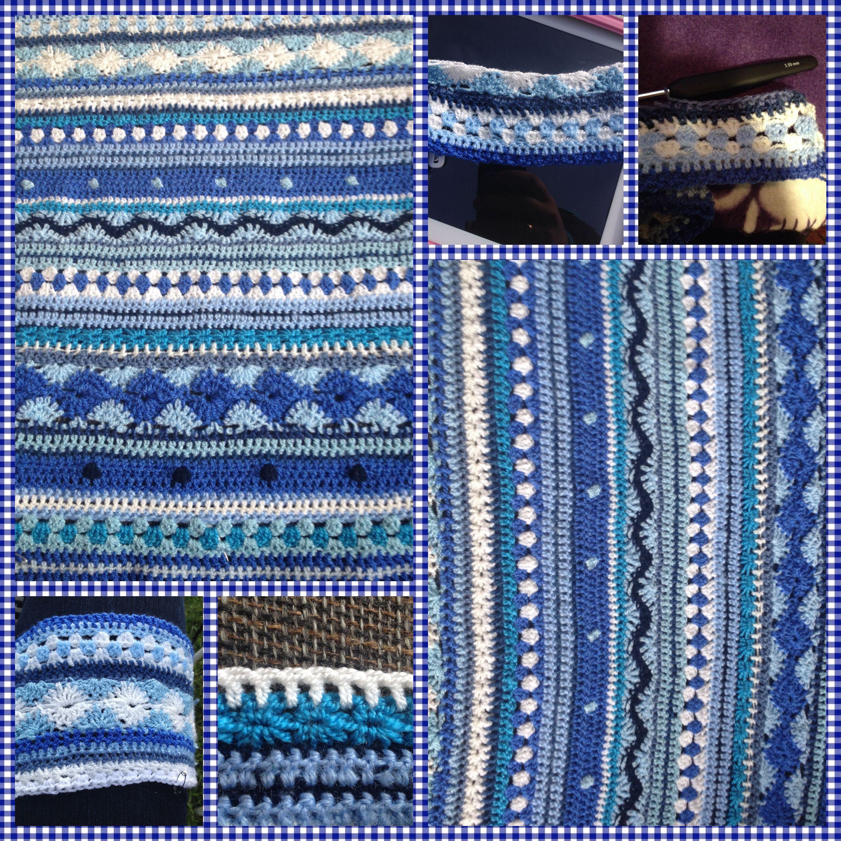 Mijn Cal Crochet Along Deken 2014 Mijn Gehaakte Kleedje Volgens