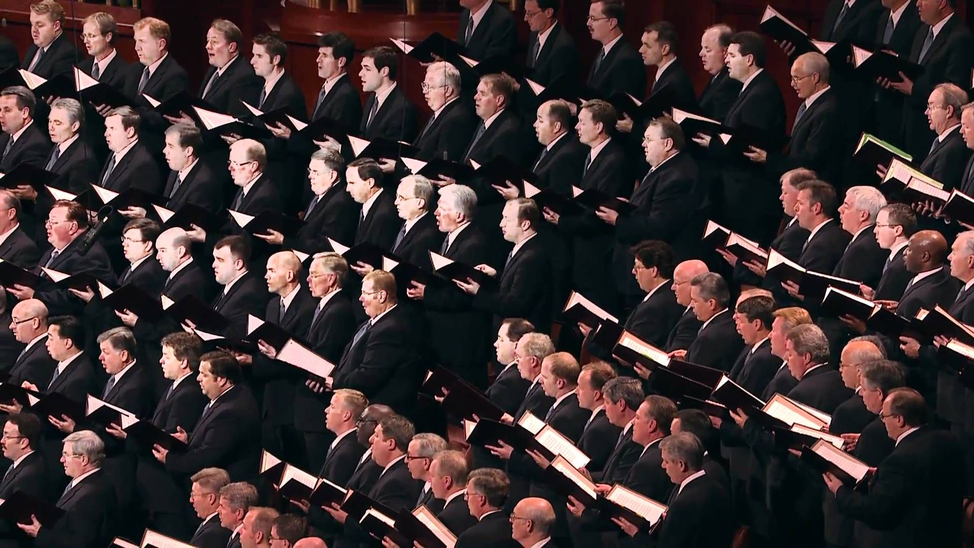 Mormon Tabernacle Choir More Holiness Give Me