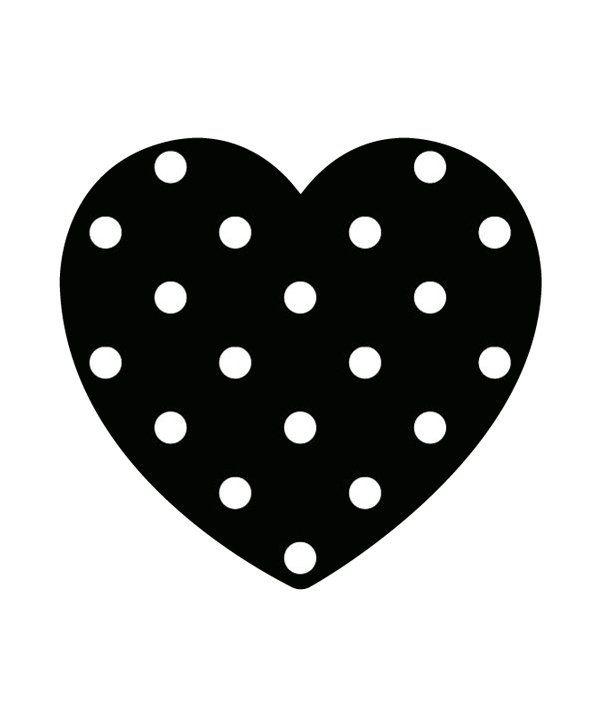 Een hart met stippen voor je #date #online dating