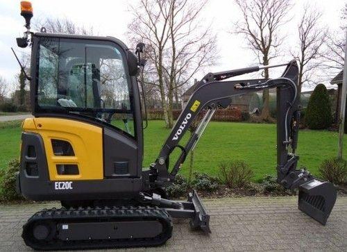 volvo fc2924c excavator service repair manual instant download