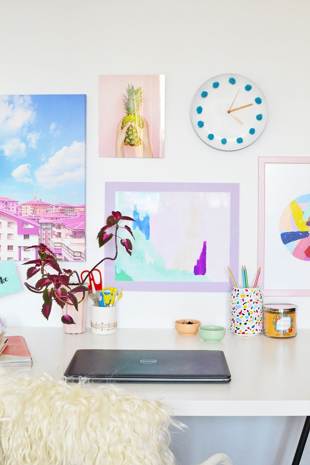 DIY Colorful Poster Frame + Wall Gallery with Mixbook | DIY Home ...