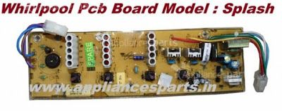 Appliances Parts Online Store: Washing Machine PCB Board (Printed