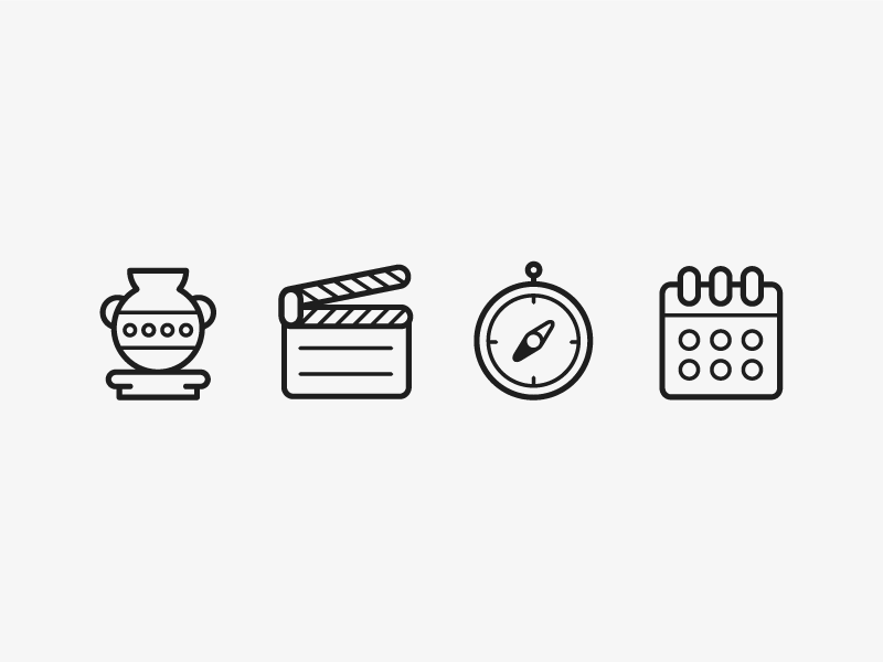 Museum Icons by Jessica Leavitt