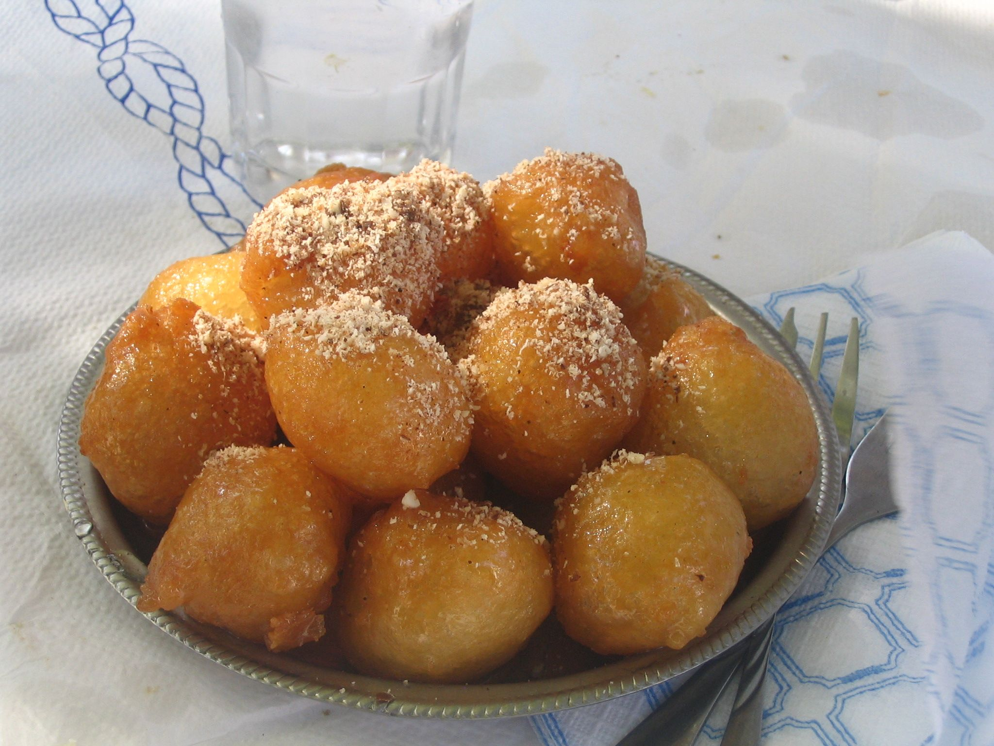 Syrup print pdf greek sweets pinterest greece trip cinnamon cinnamon and honey fritters greek recipes forumfinder Images