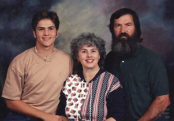 Duck Dynasty Pre Beard Family Photo Al Us Weekly
