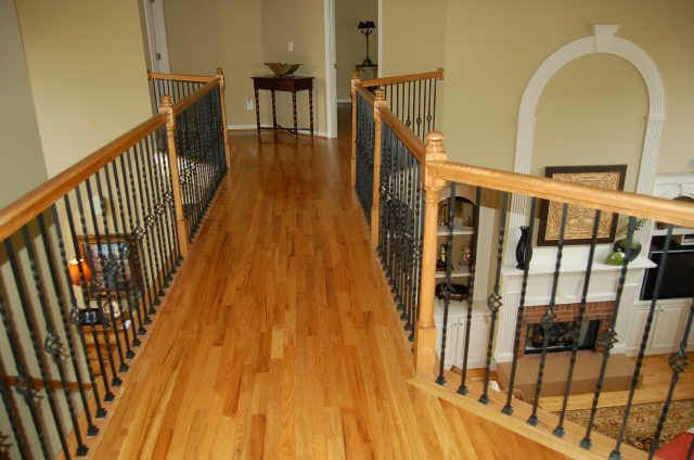 rod iron banisters   Wrought Iron Spindles ...