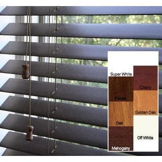 Arlo Blinds Safe Er Grip Customized Real Wood 18 Inch Wide Window Ping The Best Deals On Shades