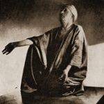 Aleister Crowley, doing yoga