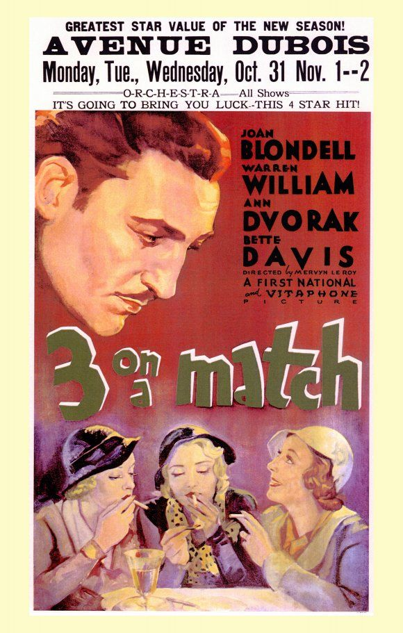Watch Three on a Match Full-Movie Streaming